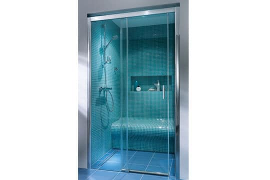 Mod les de douche l 39 italienne cr ation bain for Photo douche italienne avec banc
