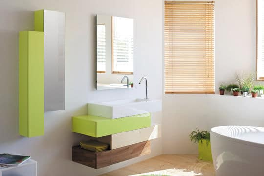 Tendances et mod les de salles de bains 2013 cr ation bain cr ation bain - Meuble salle de bain cedeo ...