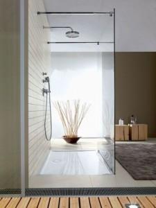 Mod les de douche l 39 italienne cr ation bain - Carrelage salle de bains tendance ...