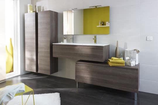 Humeur nature dans la salle de bains @Lapeyre
