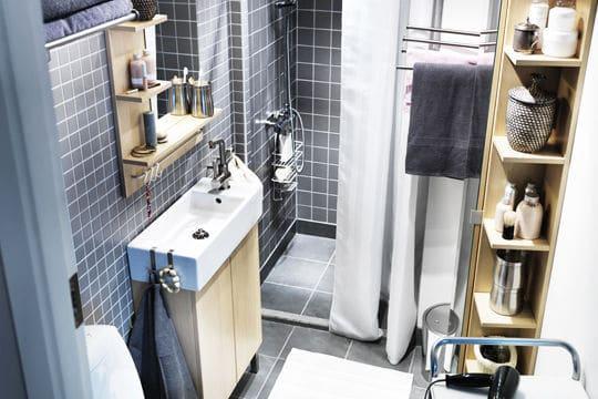 Salle de bains XS et mini design @Ikea