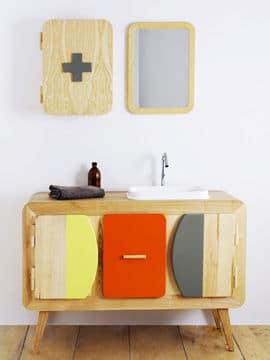 Une salle de bains made in France @Sanijura
