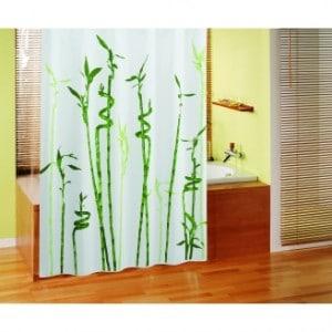 rideau de douche bambou