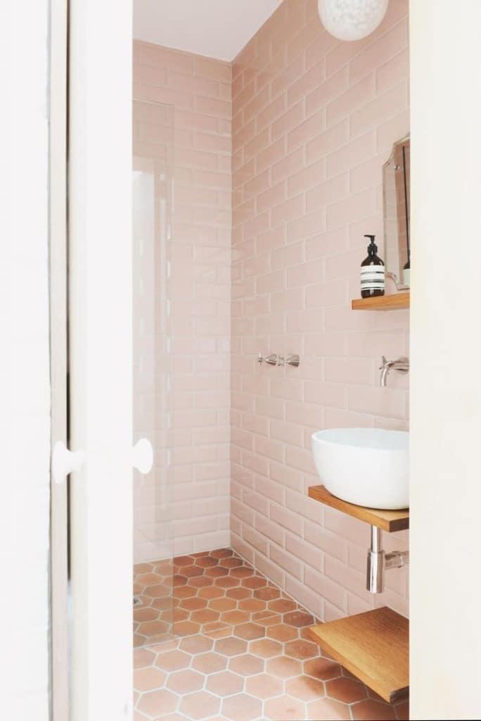 tomettes salle de bain