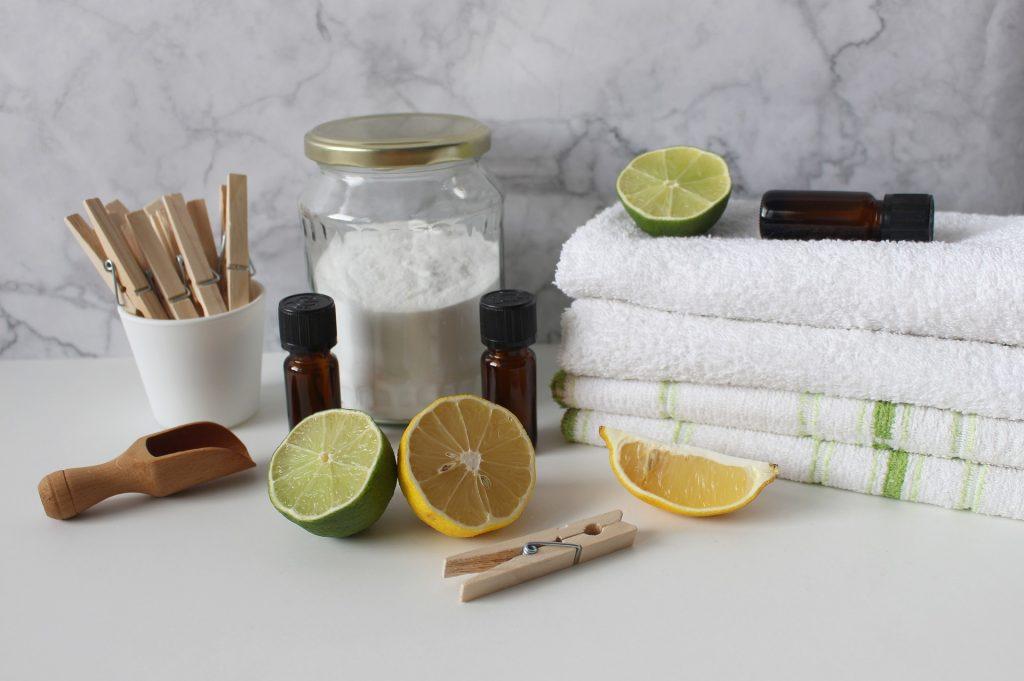Ingrédients pour laver son linge naturellement